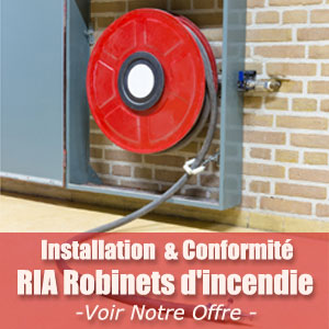 Installateur & Installation Robinets incendie armés